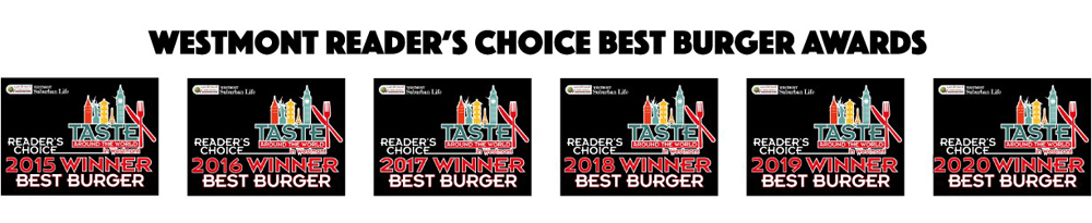 Westmont Reader's Choice Best Burger Awards